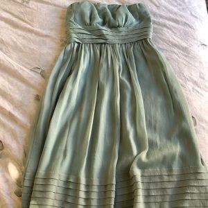 J Crew Juliet dress in silk chiffon